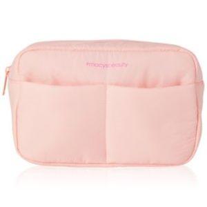 Macy's Accessories - Headbands, washcloth, makeup bag 4 pc set NEW!